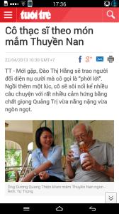 Đào thị Hằng và ông Dương Quang Thiên.