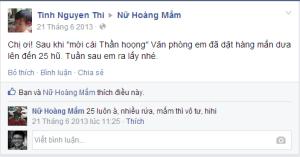 Chi Tinh Nguyen Thi -  làm việc tại World Vision Vietnam ( Tầm Nhìn Thế giới )